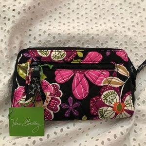 Vera Bradley Bags - NWT Vera Bradley Turnlock Wallet Pirouette Pink